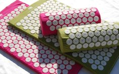 Acupressure at Home With a Bed of Nails Mat