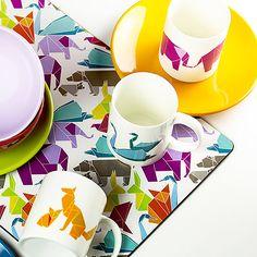 Kubki origami z kolekcji Happy :) - produkowane przez Ambition