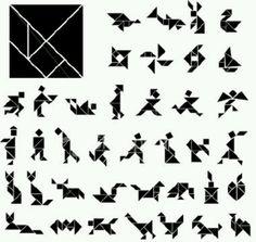 Formas con un tangrama