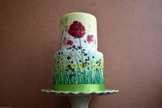 Hand Painted Cakes: Part 2 - Cake Geek Magazine - Cake Geek Magazine