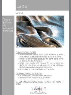 El dossier de las telas Skarlett Sewing Hacks, Sewing Projects, Dress Patterns, Sewing Patterns, Teddy Girl, Fashion Dictionary, Fashion Vocabulary, Textile Texture, Textiles