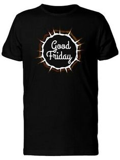 Good Friday With Thorn Wreath Men's Tee -Image by Shutterstock Good Friday, Mens Tees, Image, Ebay, Products, Beauty Products, Gadget