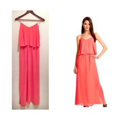 Pink Maxi Dress This dress will look gorgeous on anyone! New with tag 💗 Length 56 inches from shoulder strap to bottom. Mossimo Supply Co Dresses Maxi