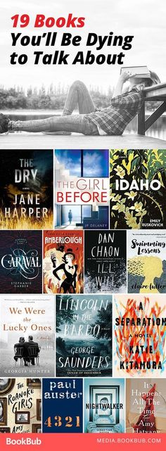 Books you'll be dying to talk about. These are great ideas for book club -- you'll never run out of things to talk about!