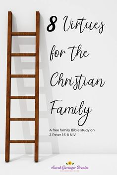 8 Virtues for the Christian Family is a new, free Bible study I've written for busy families. It's a 12-page printable resource you can use for family devotions. Family Bible Study, Free Bible Study, Christian Living, Christian Faith, Family Foundations, Biblical Inspiration, Christian Families, Bible Truth, Christian Encouragement