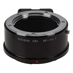 Fotodiox Pro Lens Mount Adapter Compatible with Minolta Rokkor (Sr/Md/Mc) SLR Lenses to Nikon Z-Mount Mirrorless Camera Bodies Lenses