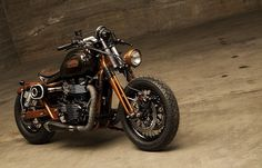 Triumph Bonneville Bobber by Officine GP Design