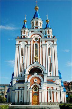 Image from http://russiatrek.org/images/photo/khabarovsk-russia-church.jpg.