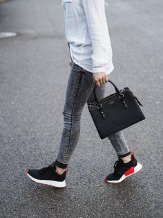half off 48d92 6658f 40 tolle Outfits kombiniert mit Adidas NMD für Damen