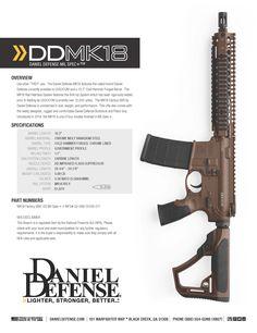 Daniel Defense MK18 (Mil Spec +) www.danieldefense.com