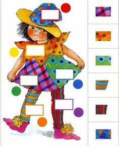 Image du Blog cheznounoucricri.centerblog.net Preschool Learning Activities, Kindergarten Worksheets, Preschool Activities, Teaching Kids, Kids Learning, Activities For Kids, Math For Kids, Educational Games, Kids Education