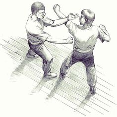 Wing Chun (center line defense)