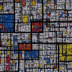 tonguedepressors: (by Samuel Monnier) A fractal Mondrian pattern This has been on my todo list for a while Piet Mondrian, Mondrian Kunst, Dutch Artists, Famous Artists, Citation Art, Theo Van Doesburg, Dutch Painters, Art Abstrait, New Media