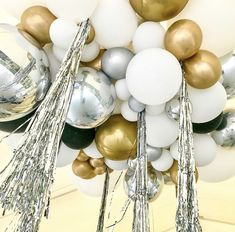 Balloons with Tassels Tails