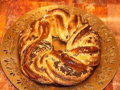 recette de cuisine couronne des rois torsadée crème amande