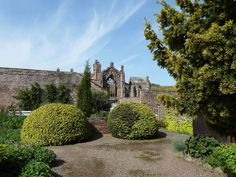 Stunning pictures of our walk along the St Cuthbert's Way on a sunny May day. Finishing on the Borders Abbeys Way, and a short steep climb with 360 degree views. Scotland Culture, St Cuthbert, The St, Golf Courses, Bike, Mansions, House Styles, Bicycle, Manor Houses