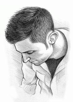 Self-portrait, 2009 (© Mike Hall) Portrait, Drawings, Portrait Illustration, Sketches, Drawing, Portraits, Resim, Draw, Head Shots