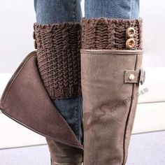 plus size boot cuffs choose color hand knit boot by dachuksb