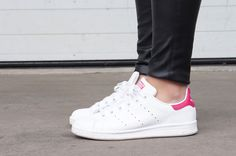 Stan smith adidas sneakers pink by LaChanna.com