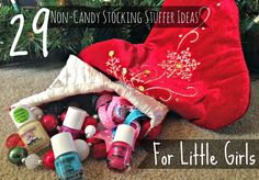 29 Non-Candy Stocking Stuffer Ideas for Little Girls PLUS Mommy & Me Spa Night Fun! #PamperedPiggies #Ad