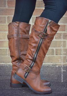 Whitney Boot- Cognac, $49.00