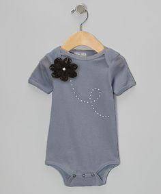 Look what I found on #zulily! Flower Swirl Bodysuit by Truffles Ruffles #zulilyfinds