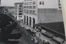 Downtown Hammond, 1940's Hammond Indiana, A Christmas Story, Street View, Pictures, Photos, Photo Illustration, Drawings
