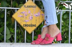 Flaming... and Gucci crossing!