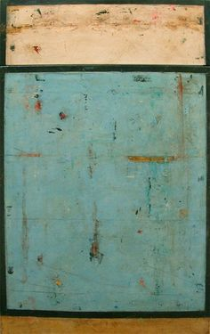 Marcia Myers    Fresco on linen  75 X 46 inches
