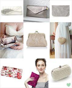 #Bridal Clutch #Bags Mood Board from The Wedding Community