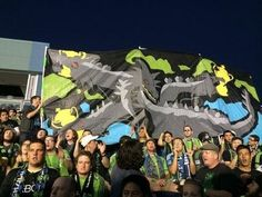 Emerald City Supporters (Seattle Sounders FC) away at Philly for US Open Cup Final.