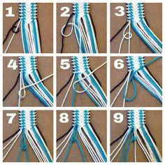 Most current Pics Macrame diy ideas Popular DIY Macrame Bracelets Ideas 6 # ideas … – Streuner Mi Macrame Bracelet Diy, Thread Bracelets, Diy Bracelets Easy, Summer Bracelets, Bracelet Crafts, Macrame Bracelet Patterns, Macrame Knots, Diy Bracelets With String, Embroidery Bracelets