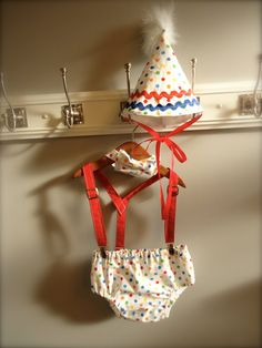 Smash the Cake 1st Birthday Boy Set Circus