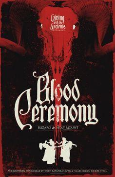 Phantom City Creative | Blood Ceremony