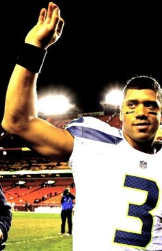 Russell Wilson.  So much respect for this guy.
