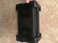 Vivitar V143BTBLK Bluetooth Retro Boom Box Speaker Black ** ** AMAZON BEST BUY **