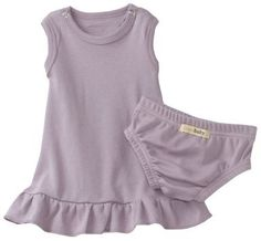 Organic Baby-Doll Dress & Diaper Cover . Shop now at Botica Baby for unique…