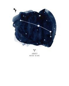 Zodiac Constellation - Aries