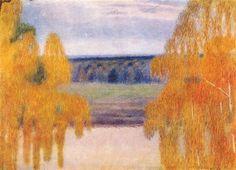 Autumn Song, 1905. Victor Borisov-Musatov. The Tretyakov Gallery, Moscow