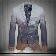 Aliexpress.com : Buy Luxury Floral Print Blazer 2015 New Arrival Velvet Blazer Men Slim Fit suits Unique Mens Blazers Velvet Blaser Masculino from Reliable blazer print suppliers on Happy Store Co.,LTD   Alibaba Group
