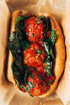 white bean + mushroom 'meatball' subs (vegan) makes about 20 'meatballs' / serves 4 + leftovers   for meatballs: 1 tbs olive oil 1 small yellow onion, diced 2 cloves of garlic, diced 8 oz button mushrooms, cleaned with dry towel and chopped 1 tsp salt 1 tsp oregano 1/2