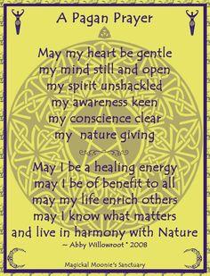 Pagan Prayer