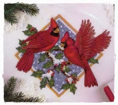 Feliz Natal: Red Birds Christmas