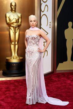 2014 Oscars - Lady Gaga in Versace