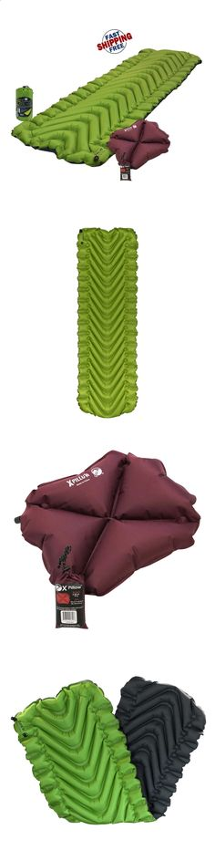 Camping Sleeping Pad - Mattresses and Pads 36114: Klymit Static V2 Sleeping Pad Green Lightweight Camping Brand New -> BUY IT NOW ONLY: $80.32 on eBay!