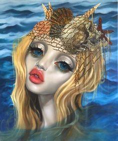 Art is a Feeling - backwrdblackbrd:   Sea Salt By Dustin Bailard