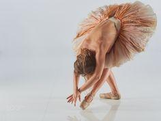 Ballet Dancer Tanja - Tanja in the studio of Martin Zurmühle, Ebikon, Switzerland