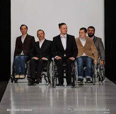 Mercedes Benz Fashion Week Russia. Wheelchair fashion