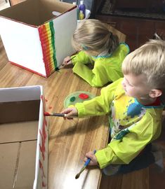 Transportation Week- Little School of Smith's Cardboard Painting, Cardboard Car, White Poster Board, Transportation Activities, Barbie Car, Go Car, Play Money, Rescue Vehicles, Teaching The Alphabet