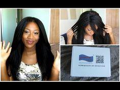 Stock Brazilian Virgin Hair Kinky Straight Glueless Lace Front Wigs-Premierlacewigs.com